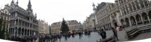 Brussels - Panoramica della Gran Place