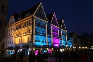 Il centro storico di Munchen.