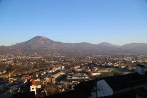 Panorama di Salisburgo dalla Fortezza.