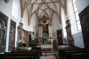 Interno della Fortezza – La Cappella.