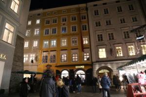 La casa di Mozart.