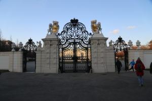 L'ingresso del Belvedere.