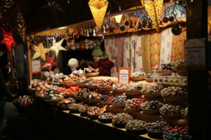 I mercatini di Natale presso Maria-Theresien-Platz