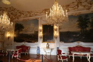 Interno del castello di Schonbrun.