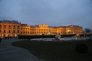 Il castello di Schonbrun.