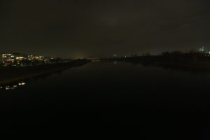 Il Danubio di notte.