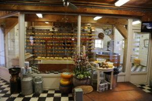 Zaanse Schans,, il museo del formaggio.