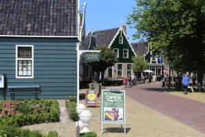 Zaanse Schans, l'ingresso al quartiere museo.