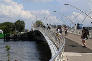 Zaanse Schans,, uno ponte levatoio.