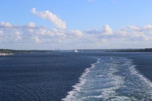 Il fiordo di Kiel.