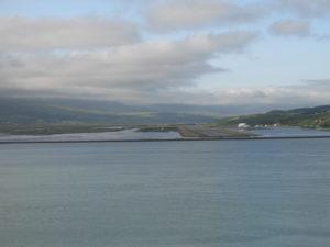 Akureyri - L'aeroporto.