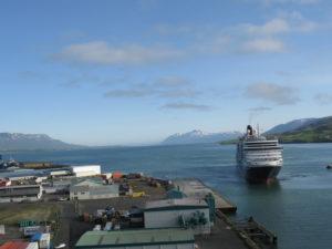 Akureyri - Il porto.