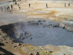 Namafjall, campo geotermico