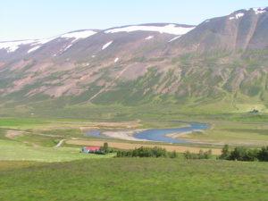 Paesaggio islandese.