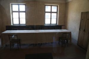 L'aula del tribunale.
