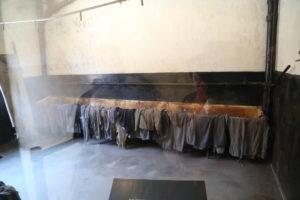 Lavatoi che venivano utilizzati da spogliatoi.