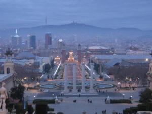 Da Montjuic a Placa de Espanya