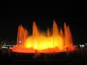 La fontana magica.
