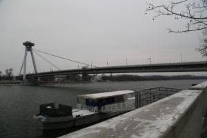 """I ponte nuovo con in """"disco Volante"""""""
