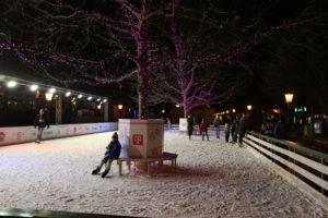 Hviezdoslavovo námestie – la pista di pattinaggio