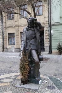 La statua di H. C. Andersen