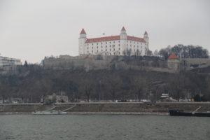 Il castello di Bratislava