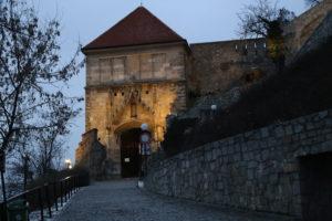La salita verso il Castello