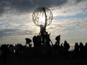 Il Globo, simbolo di Capo Nord.