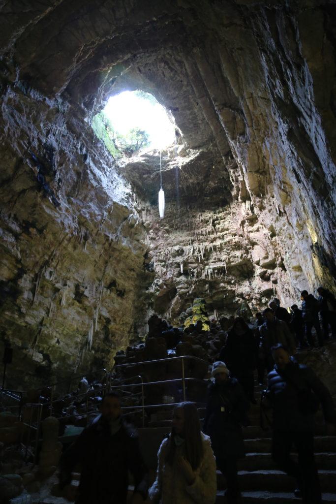 Ingresso alle Grotte.