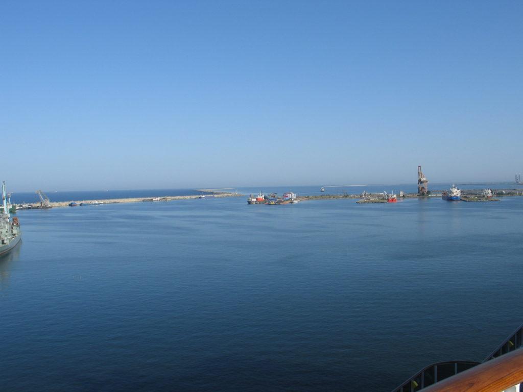 Costanza, il porto sul mar Nero.