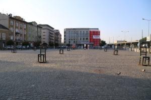 Piazza degli Eroi del Ghetto.