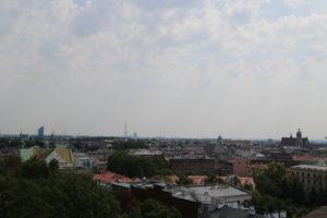 Vista dal Castello di Wawel.