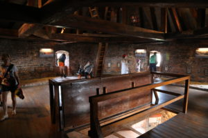Visita alla Torre del Castello di Wawel.