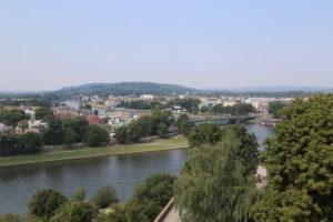La Vistola dalla Torre del Castello di Wawel.