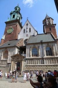 Castello di Wawel, l'ingresso della Cattedrale