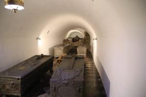 Il Castello di Wawel, interno della Cattedrale.