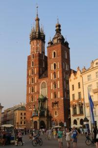 Rynek Glowny, La chiesa di Santa Maria.