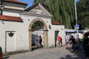 Kazimierz, il quartiere ebraico - La vecchia Sinagoga.