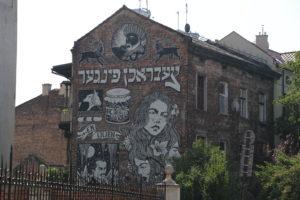 Kazimierz, il quartiere ebraico.