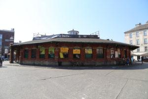 Kazimierz, il mercato.