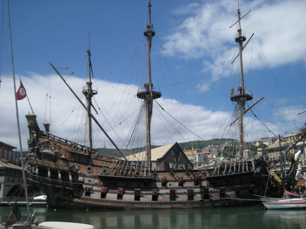 Genova, il porto.