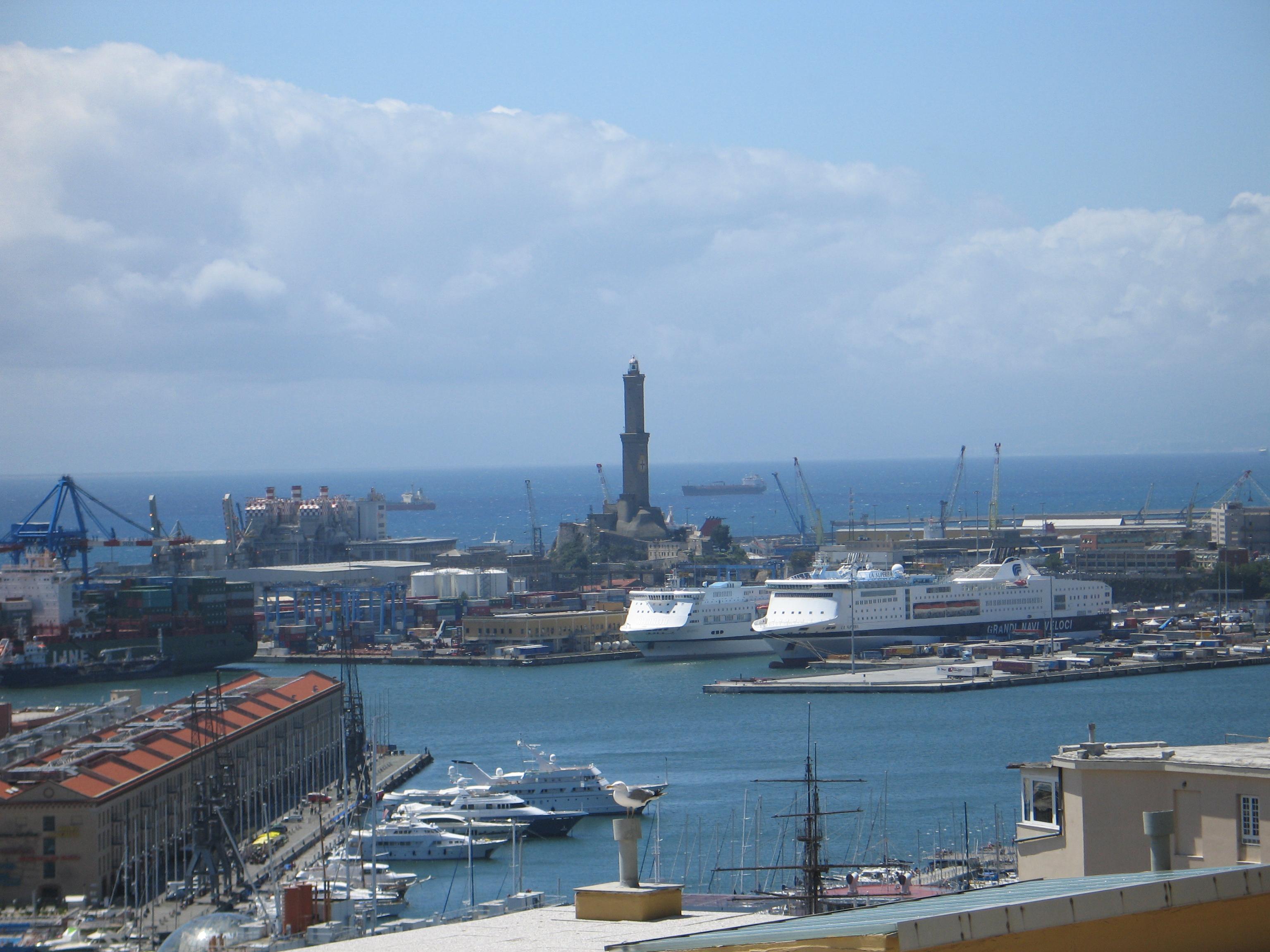 Genova, la lanterna.