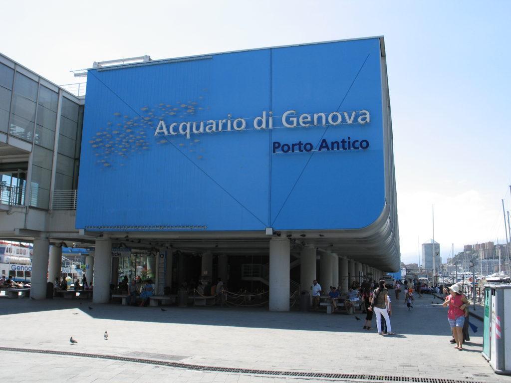 Genova, l'Acquario.