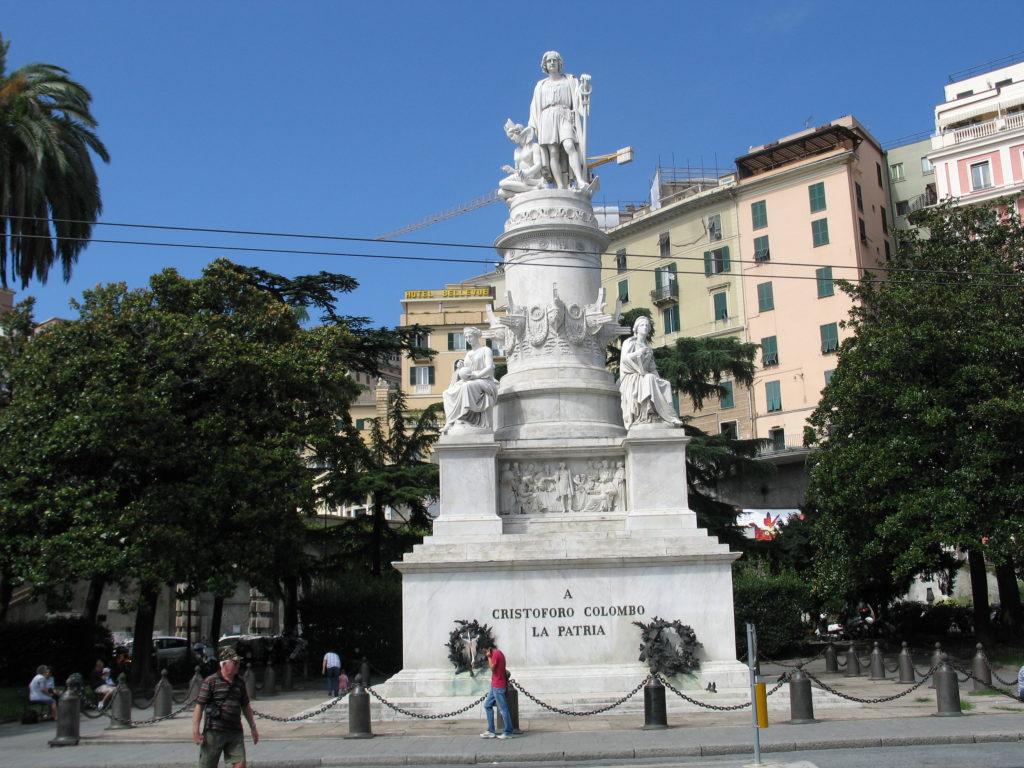 Genova - Monumento a Cristoforo Colombo