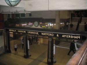 Una stazione dell'Undergraund