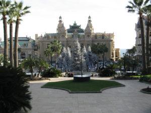 Principato di Monaco, I giardini del Casino.