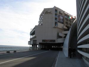 Principato di Monaco, l'ingresso del Tunnel (F1).