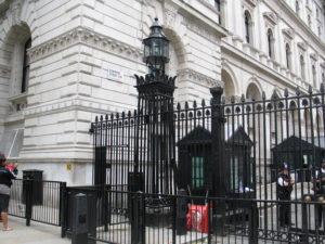 Londra: Indirizzo: 10 Downing Street