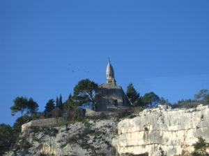 Il paesaggio da Marsiglia ad Avignone.