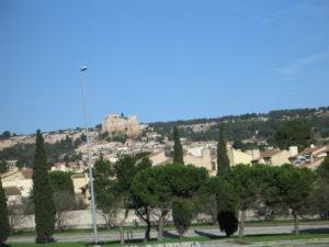 Scorcio di paesaggio da Avignone a Marsiglia.